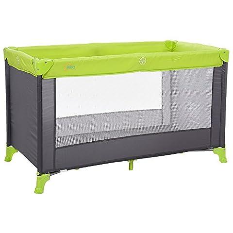Fillikid 4005-07 Reisebett Basic, grau/grün