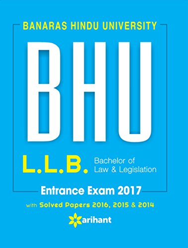 BHU Banaras Hindu University  L.L.B Entrance Exam 2017