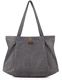 436aace31801 SMRITI Canvas Tote Bag for School Work Travel and Shopping