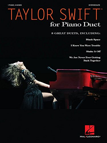 Taylor Swift for Piano Duet: Intermediate Level