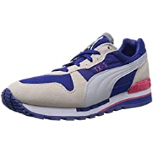 PUMA TX-3, MZRN BLUE/WHITE/VIOLET/TBRRY RED, 8 UK 42 EUR