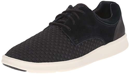 Ugg Australia Men's Hepner Woven Black Suede Men's Shoes Black