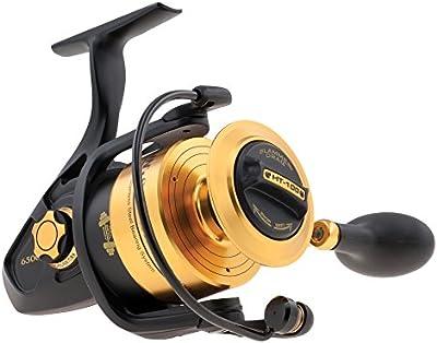 Penn SSV6500 - Carrete de pesca, color negro