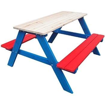 kinder gartenbank gartengarnitur sitzbank gartentisch kinder tisch picknickbank. Black Bedroom Furniture Sets. Home Design Ideas