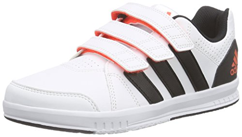 adidas Performance Unisex-Kinder Lk Trainer 7 Cf Low-Top Weiß (Ftwr White/Core Black/Solar Red)