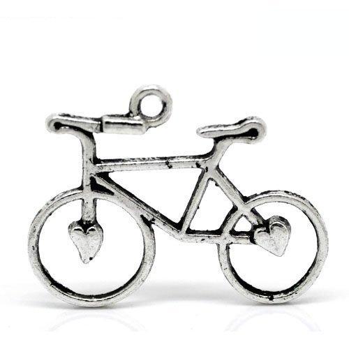 pacco-20-x-argento-antico-tibetano-31mm-ciondoli-pendente-bicicletta-zx06045-charming-beads