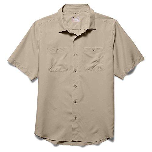 Under Armour–Maglietta a maniche corte da uomo Chesapeake 2 Desert Sand