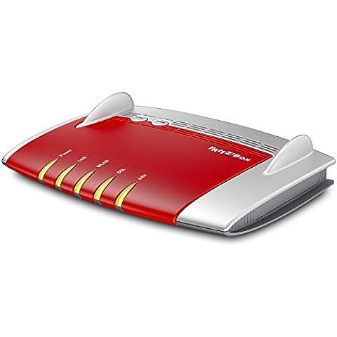 AVM FRITZ!Box 3490 International - Modem Router WiFi AC 1750, Banda Dual (450 Mbps en 2,4GHz y 1300 Mbps en 5 GHz), VDSL, ADSL2+, 4 puertos LAN Gigabit, 2 puertos USB 3.0, servidor multimedia, interfaz en