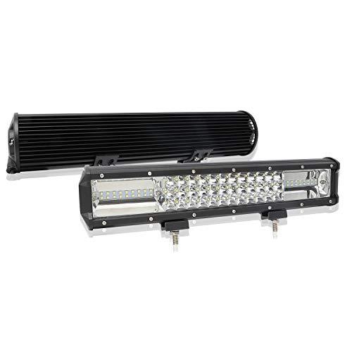 Preisvergleich Produktbild JAYLONG 15 Zoll 2 Pack 216W LED-Leuchten,  LED Work Light Bar Spot Lampe Offroad 4WD SUV LKW Boot,  IP67 Driving Spot Beam Light Lampe 12V 24V DC
