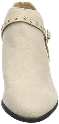 Miss Selfridge Stud, Stivali Chelsea Donna Off-White (Nude)