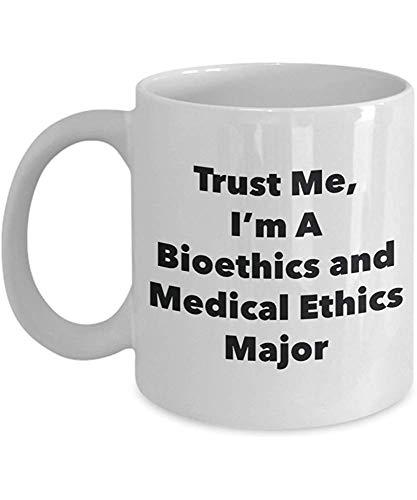 BOGGG Vertrauen Sie Mir, ich Bin eine Bioethik und eine medizinische Ethik-Hauptbecher - lustige Kaffeetasse - niedliche Abschluss-Gag-Geschenk-Ideen für Freunde und Mitschüler 11 Unze