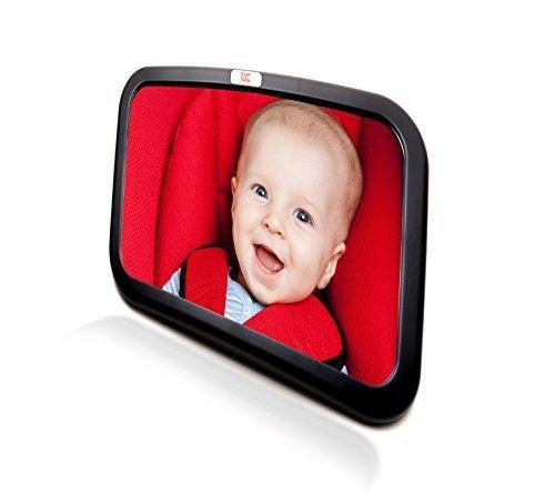 Rücksitzspiegel fürs Baby, Bruchsicherer Auto-Rückspiegel für Babyschale, Autositz-Spiegel für Kinder in Kinderschale, Kindersitz, Babysit (Baby-auto-sitze)