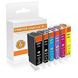 Printer-eXpress 6 XXL Tinten-patronen kompatibel zu Canon PGI-580, CLI-581 für Pixma TS-8150, TS-8151, TS-8152, TS-8240, TS-8241, TS-8242, TS-8250, TS-8251, TS-8252, TS-9150, TS-9155 Drucker