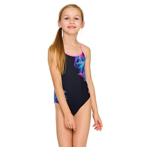 Zoggs Girls' Kitch Chaos Sprintback Swimsuit
