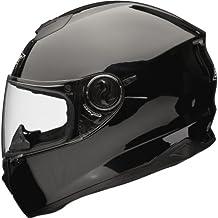 Shox Assault - Casco integral para moto, negro, 59-60cm (L)