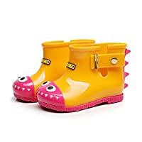 Daclay Children Waterproof Rainshoes Boy and Girl