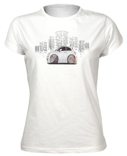 koolart-cartoon-caricature-style-of-fiat-500-silver-sideview-womens-t-shirt-white-x-large
