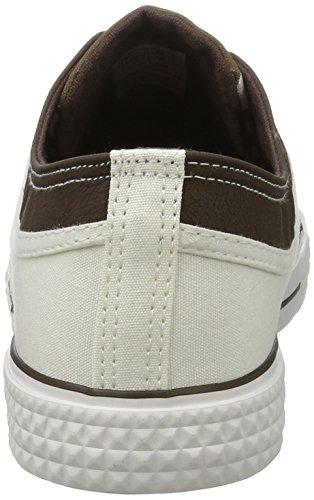 Nebulus Mens Sneaker Marittimo Multicolore (bianco-marrone)