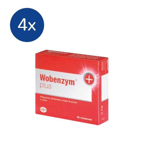 NAMEDSPORT 4x Vobenzym Plus da 60 compresse - 41wfYoZGmJL