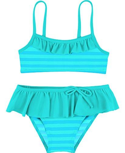 Merry Style Mädchen Bikini Set MSVRKind3 (Minze/Blau, 140)