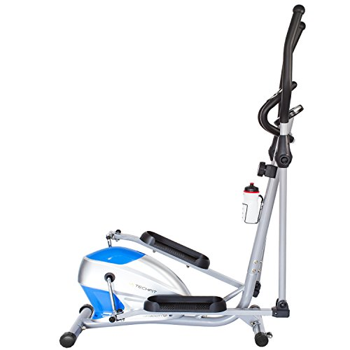 TechFit OptimusCity Cross Trainer, Elliptisch Bike für Home, Gewicht Verlust Maschine für Cardio-Und Fitness Übungen, Magnetischer Widerstand Gerät Fit für Innenräume