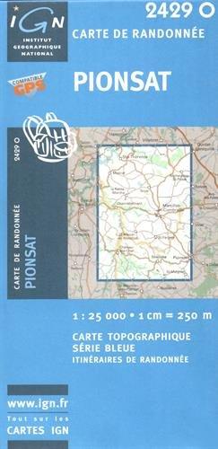 Pionsat: IGN2429O (Ign Map) par IGN