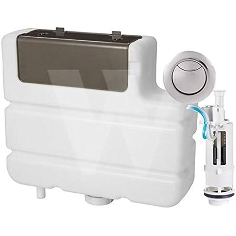 Macdee Aquasave Dual Flush pneumatico a L per cassetta WC,