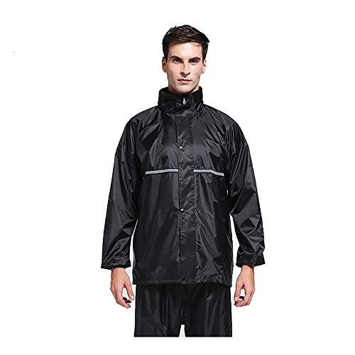 Transparenter Regenmantel Erwachsene Jacke Männliche und weibliche Studenten Outdoor Wandern Poncho Reiten Tragbar (Size : XXXL) (Schweiß-jacke Weiblich)