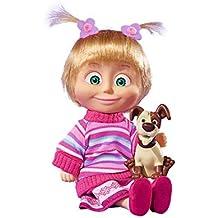 Simba Toys Masha with her Aninmal Friends, 5-ass muñeca - Muñecas (5-ass, Multicolor, Femenino, Chica, 3 año(s), 9 año(s), 120 mm)
