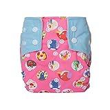 Letech® Stoffwindeln Babywindeln Waschbar Windel Größe Verstellbar (Blau)