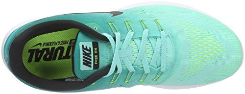 Nike Free Rn Scarpe Da Corsa, Uomo Multicolore (Hyper Turq/Black/Rio Teal/Volt/White)