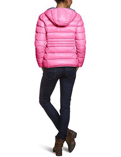 CMP Damen Daunenjacke, 3Z16026, Rosa (Pink Fluo-Caviale), Gr. 40 - 2