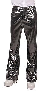 Boland pantalones Disco Party, años 1970 Taglia unica M/L plateado