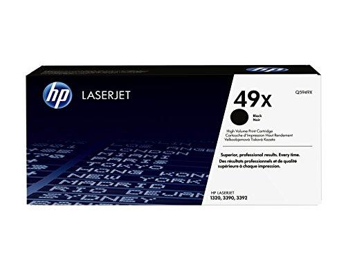 HP 49X (Q5949X) Schwarz Original Toner mit hoher Reichweite für HP Laserjet...