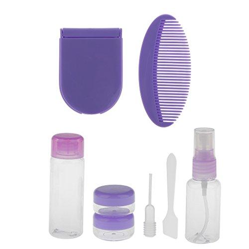 7pcs-bouteilles-cosmetiques-creme-lotion-voyage-bagage-peigne-miroir-sac-de-rangements-violet