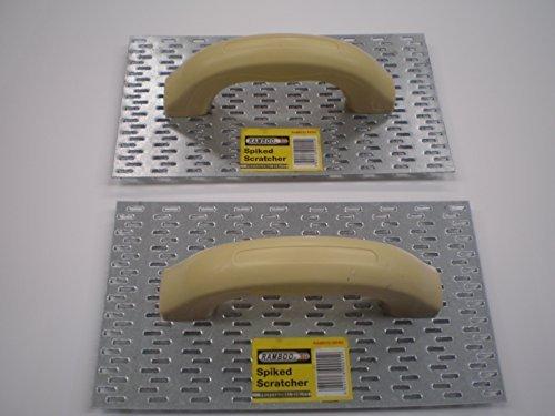 Preisvergleich Produktbild 2 x render Kratzern FLOAT Spikes SCRATCH REND die Oberfläche zu ziehen, dass sich neue gezahnten Schaber 25.40 cm