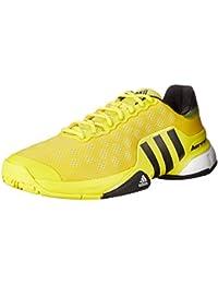 Adidas Performance barricada 2015 zapatillas de tenis, brillante amarillo / negro / blanco, 6,5 M co