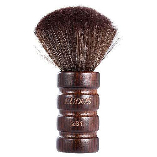 Renaisi Bürste Barber Neck Duster Reinigungsbürste Salon Friseur Haar Sweep Weiche Haarbürste Gesicht Duster Pinsel Reinigungswerkzeug Holzgriff Makeup Tools