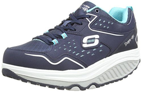 skechers-shape-ups-2-0-everyday-comfort-sneakers-basses-femme-bleu-nvlb-37-eu