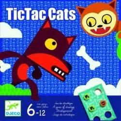 Djeco- Juegos Educativos Tictaccats, Multicolor (DJ08449)