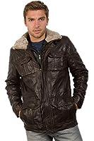 Modernes lässiges Long-Jacket braun Trendmodell vom Lifestylelabel Mauritius!