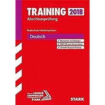 Training Abschlussprüfung Realschule Niedersachsen - Deutsch, mit MP3-CD