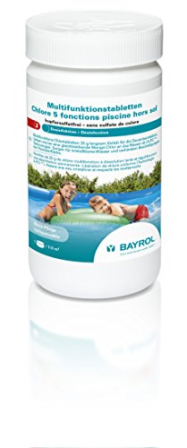 BAYROL 1135105 Multifunktions Chlortabletten (Tabletten Whirlpool)