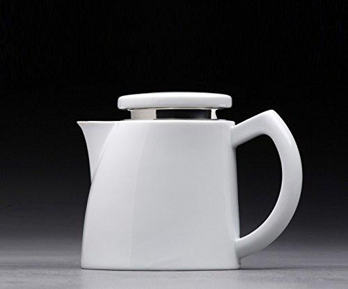Sowden Oskar Kaffeekanne 0,8 l Porzellan weiß, plus ultrascharfes, langlebiges Kochen Macht Spaß...