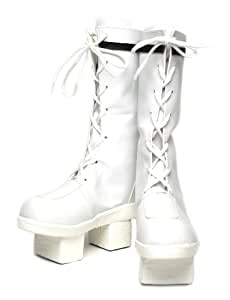 [Cosplay boots] Senbonzakura Hatsune Miku cosplay costume boots shoes VOCALOID white Miku 23cm (japan import)