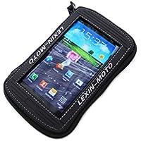 Supersize mtb03robusto Borsa Serbatoio Magnetica per moto ideale per tablet Note