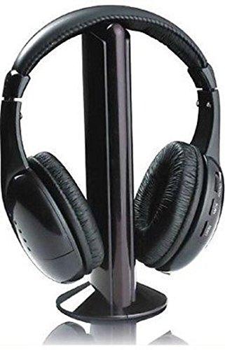 Akai CW04 Cuffie Senza Filo Radio FM 5 funzioni