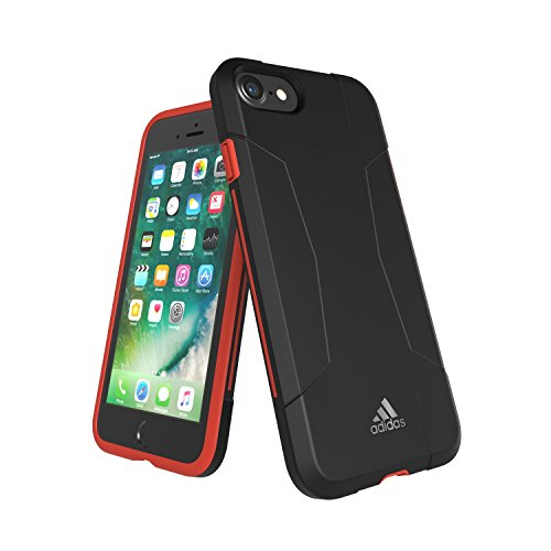 adidas Terrex - Solo Case iPhone 7 Plus Tactile Rose/Red Night - Handyhülle iPhone 7 Plus / Smartphone Hülle iPhone 7 Plus - Handy Case, TPU Schutzhülle für Jogging, Fitness & Sport usw. Black / Red - iPhone 7
