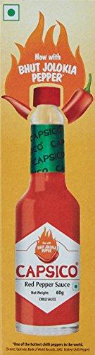 Capsico Red Pepper Chilli Sauce – 60g