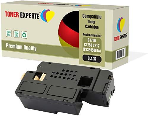 TONER EXPERTE® Schwarz Premium Toner kompatibel zu C13S050614 für Epson AcuLaser C1750N, C1750W, CX17NF, CX17WF, C1700, C1750, CX17